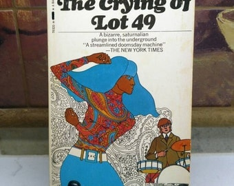 Thomas Pynchon, The Crying of Lot 49, Vintage Softcover Book (1972)