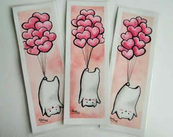 Bear bookmark [ORIGINAL ART]