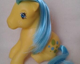 G1 My Little Pony Bubbles (ITALY 1983) MLP