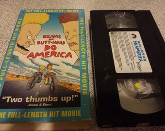 Beavis and Butthead do America -VHS- Classic