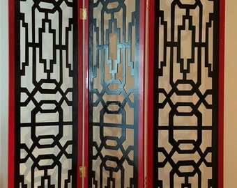 Chinese Style Privacy Screen