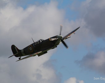 Battle of Britain 75th Anniversary Spitfire Vb BM597 Photograph Print
