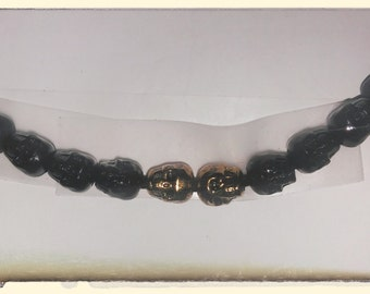 Pogo 77 Raven's Gold Necklace