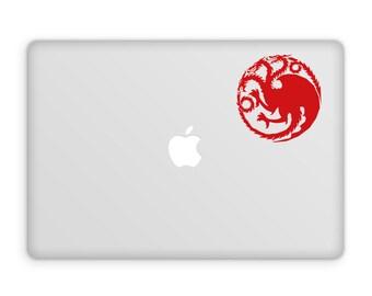Targaryen Decal - Game Of Thrones Decal / House Targaryen / Daenerys Targaryen