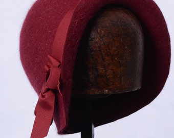 Miss FisherPink Fur Felt 1920's cloche