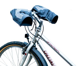 Bike Earz - Bar Mitts /Handlebar Mitten/Mountain Bike pogies/bicycle handlebar muffs/bicycle handlebar gloves- bicycle handlebar protectors