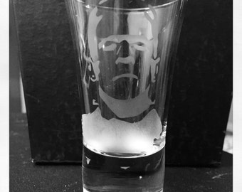 Frankenstein's Monster Shooter, hand etched Horror Frankenstein