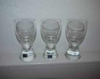 Kosta - RONDO - Göran Wärff - Shot Glasses - RETRO - Swedish Design