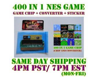 400 in 1 NES Nintendo Multi Game Chip