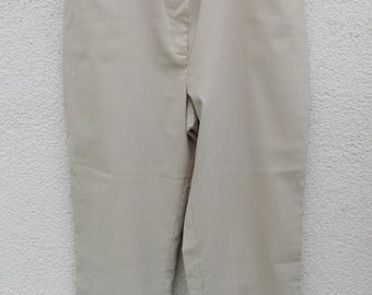 Bison white-brown chekered pants