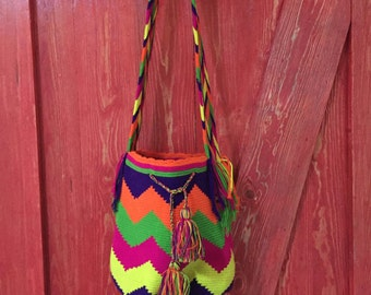 Mariana Tote Bag Bohemian Embroidery Art from Colombia