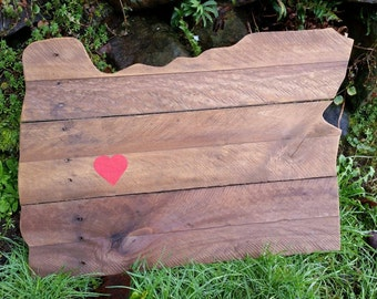Love Oregon Pallet