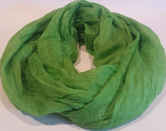 Green Fashion Scarf