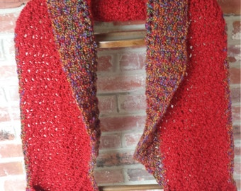 Hand Crocheted Pocketed Shawl