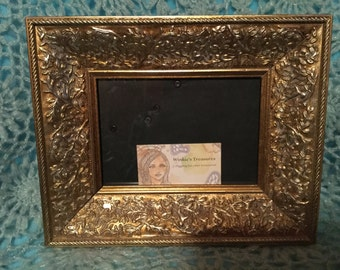 Vintage Gold Ornate Decorative Photo Frame