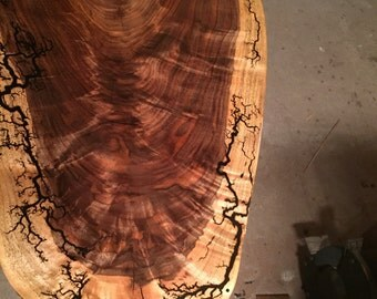 amazing black walnut coffee table top