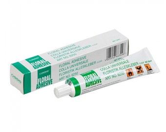 Floral Adhesive Glue 50ml Tube for Floristry, Fresh Flowers & Weddings
