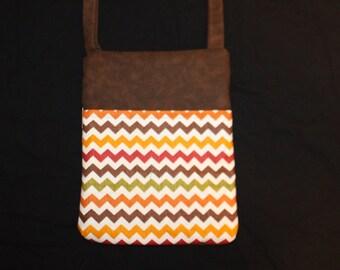 Pointed Stripes runaround bag