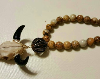 New style for bead and bull skull