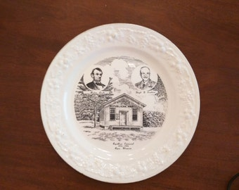 100th anniversary commemorative plate from the Republican party