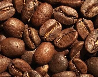 Fresh roasted coffee beans