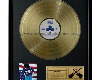 "Ryan Adams Gold Disk 24K Plated 12"" LP (1296)"