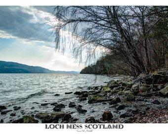 Poster, 20x30 inch, Loch Ness, Scotland, Fine Art Photography