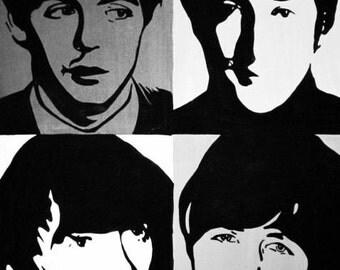 The Beatles Canvas Print