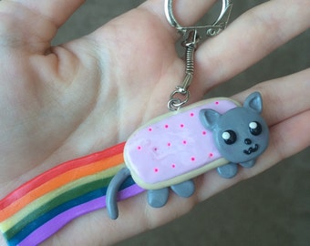 Nyan cat in fimo