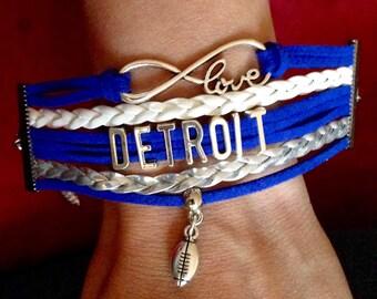 Detroit Lions Bracelet