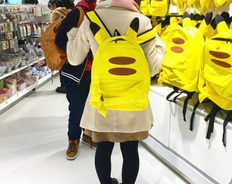NEW Pokemon Pikachu backpack