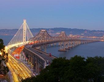 Bay Bridge Old & New