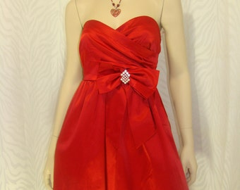 Simply Red Party Dress