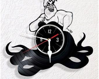 Vinyl wall clock Ursula
