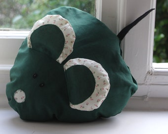 Green Mouse Cushion