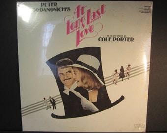 At Long Last Love,Original Motion Picture Soundtrack,Cole Porter,Promo,RCA ABL2-0967, Burt Reynolds,Sybill Shepherd,Madeline Kahn, sealed LP