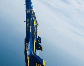 Navy Blue Angels Poster