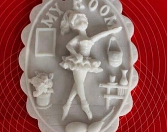 """My Room""""  Silicone Soap Mold, Scented Clay Mold, Candle Molds, Soap Molds, Soap Moulds, Chocolate Molds, Silicone Molds, Silicone Moulds"""