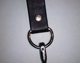 Leather Dangler, With Option to Personalize