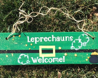 Leprechauns welcome