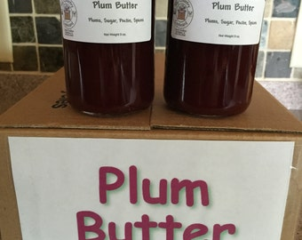 Plum Butter, Fruit Butter, Plum