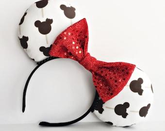 Mickey Ice Cream Bar Ears, Mickey Bar Mouse Ears, Disney Minnie Ears, Disney food ears, Mickey Bar Ears