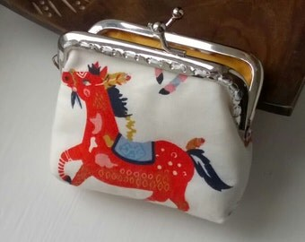 Penny Purse, Coin purse, Mini clasp purse, Clasp Purse