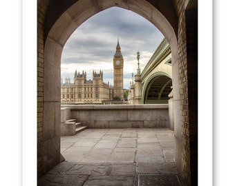 Westminster London: Photographic card