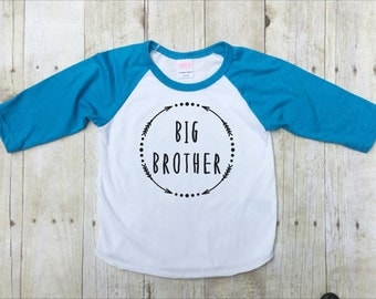 Big Brother - Little Brother - Big Brother Shirt - Little Brother Shirt - Family Photo Shirt - Siblings Shirt - New Baby Announcement