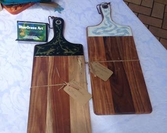 Resin Breadboard or serving plate