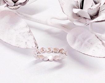 Rose ring bridal design
