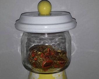 Large Mason Jar Candy Machine