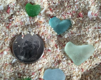 Beach Glass Heart / Beach Glass