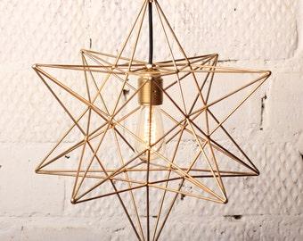 Lamp Star Gold
